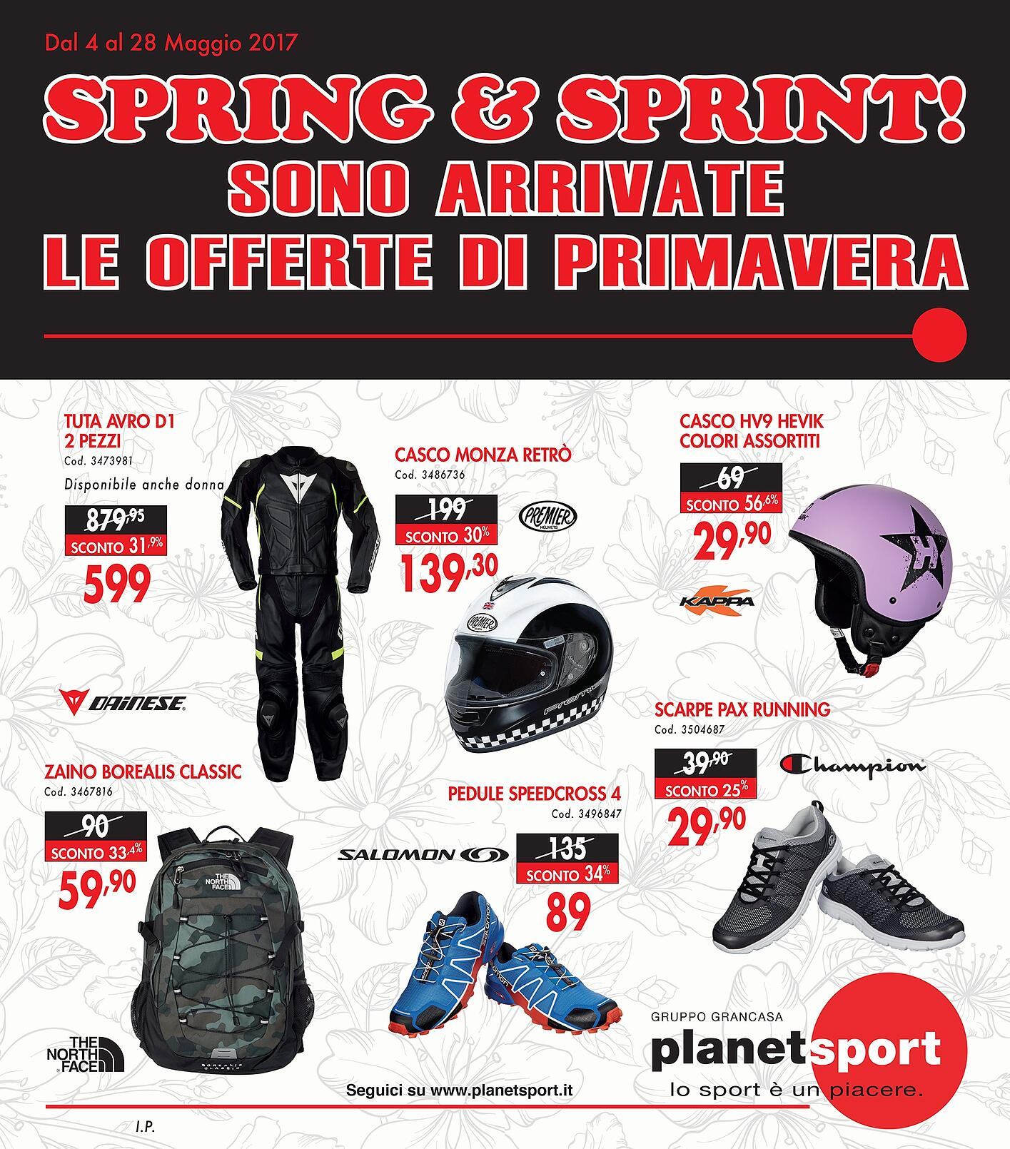 Planet Sport creare traffico in punto vendita volantino promozionale 1.jpg