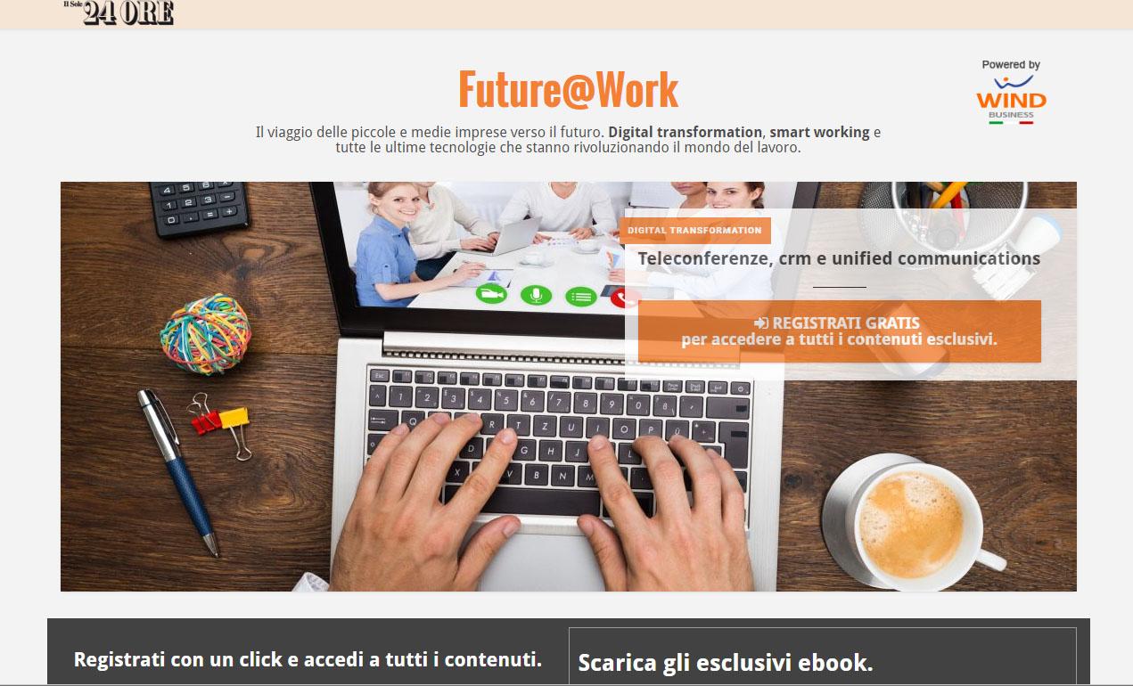 Ofg Advertising ed Effedodici lanciano Future@Work per il Sole24Ore