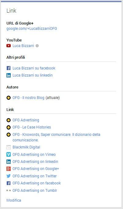 Ottimizzare il profilo Google+ per il SEO del blog aziendale